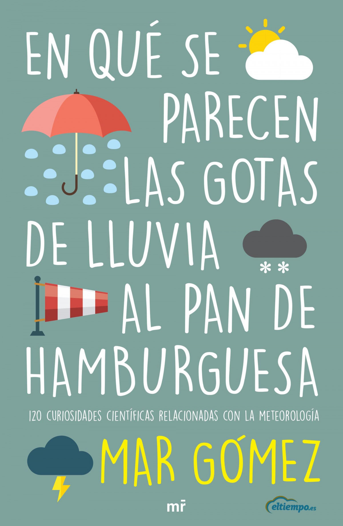 En qué se parecen las gotas de lluvia al pan de hamburguesa 9788427047471
