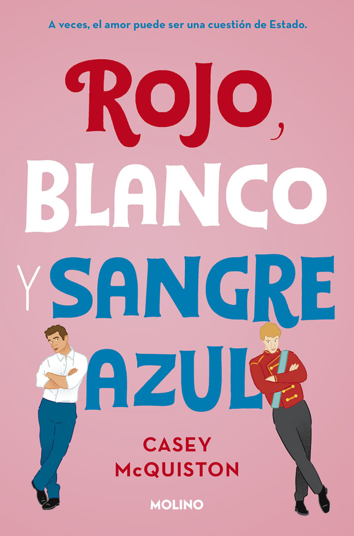 ROJO, BLANCO Y SANGRE AZUL 9788427218697