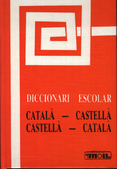 DICC.ESCOLAR CAT-CAST. I VICEV.(TELA) 9788427308367