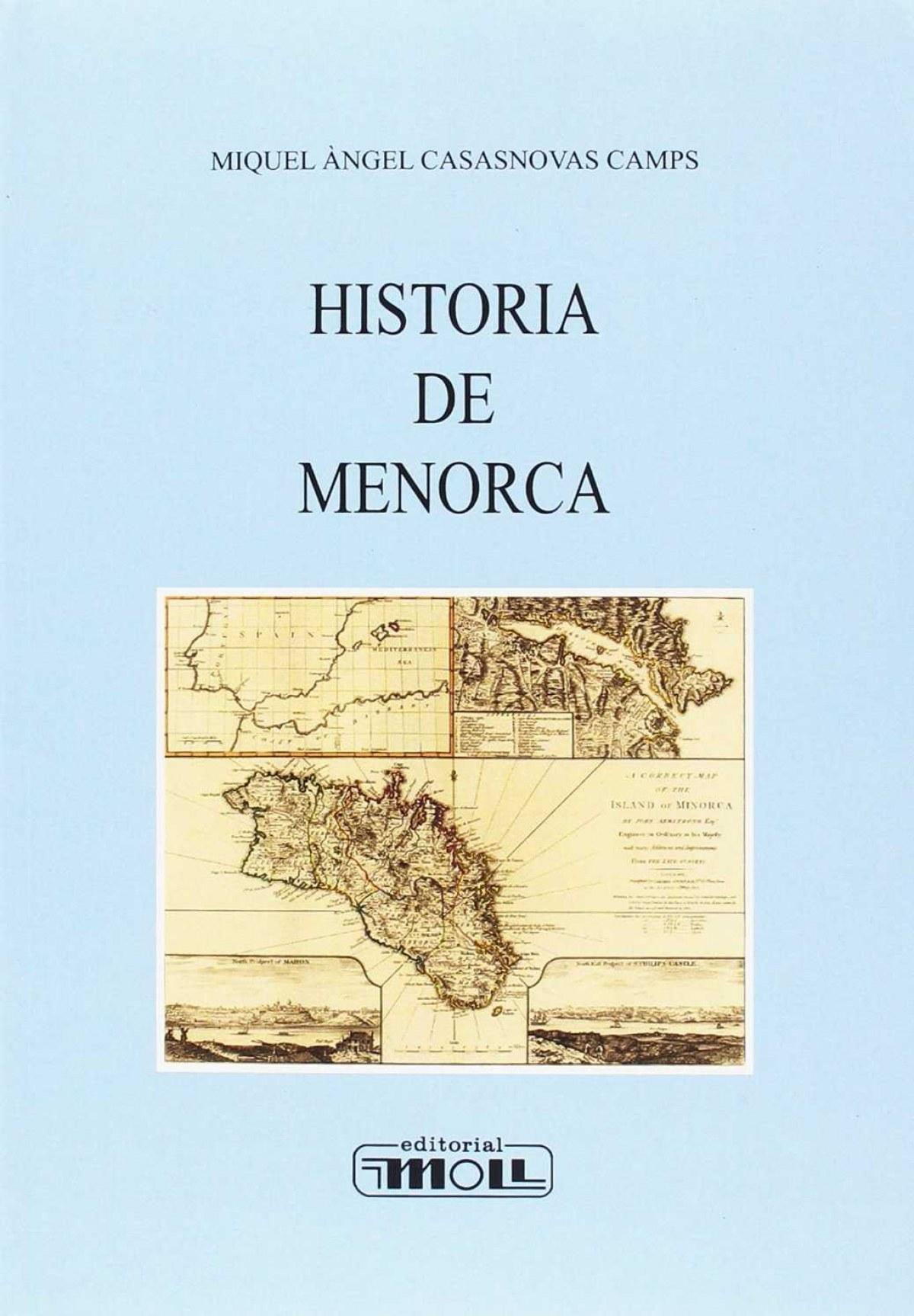 HISTORIA DE MENORCA-CAST. 9788427309210