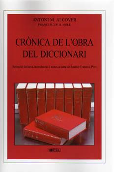 CRONICA DE L OBRA DEL DICCIONARI 9788427340510