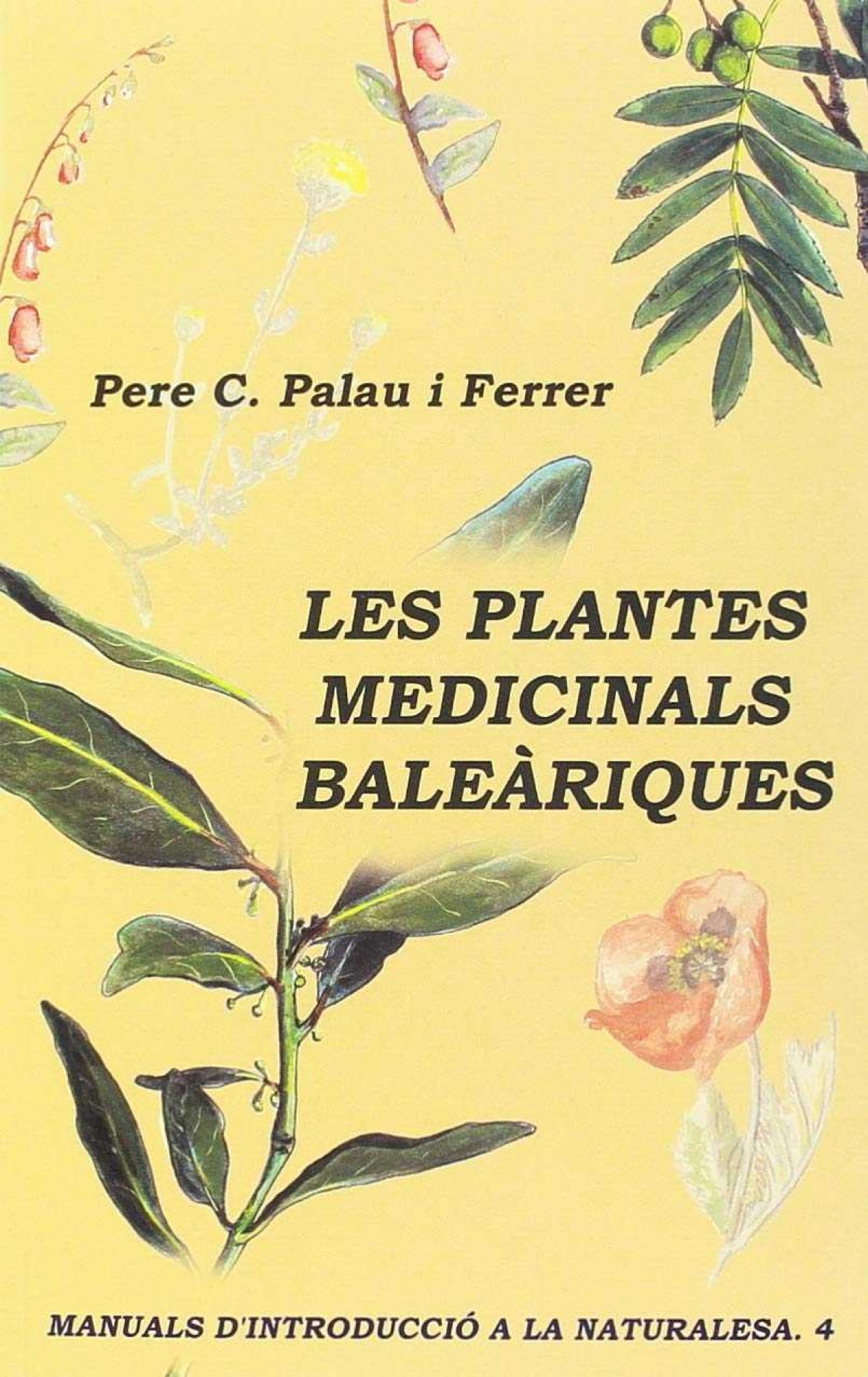 PLANTES MEDICINALS BALEARIQUES 9788427360044