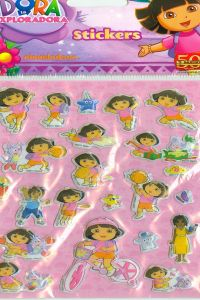 STICKERS DORA LA EXPLORADORA 9788427865297