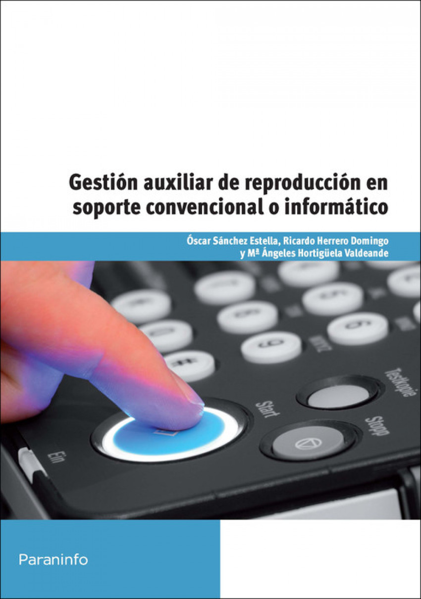 Gestion aux.reproduccion soporte convencional informatico 9788428327596
