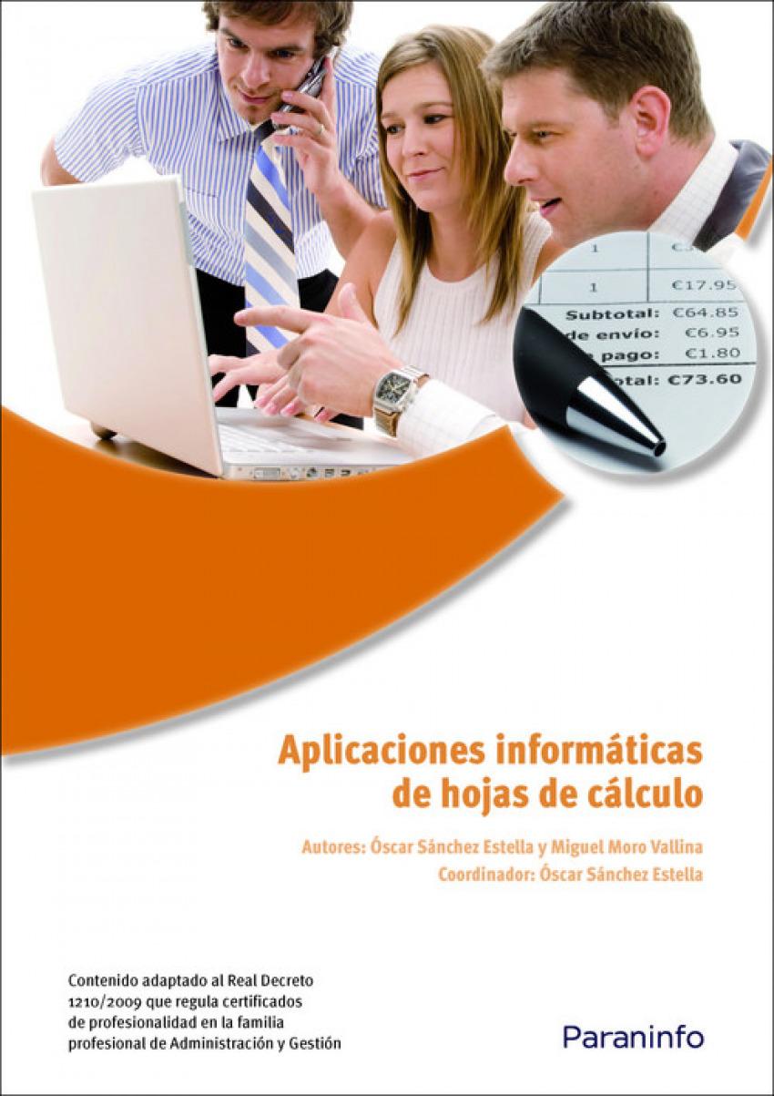 Aplicaciones informaticas de hojas de calculo 9788428332439