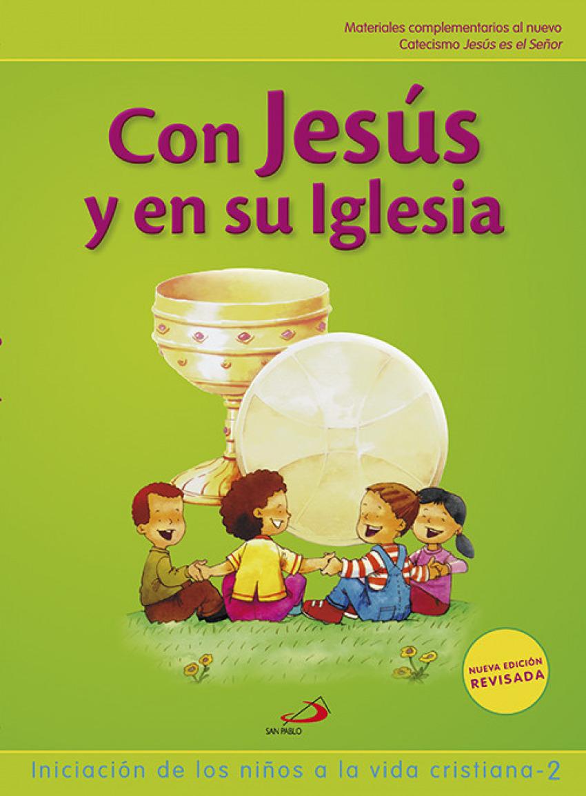 CON JESUS Y SU IGLESIA.(NUEVO GALILEA 2000) 9788428534833