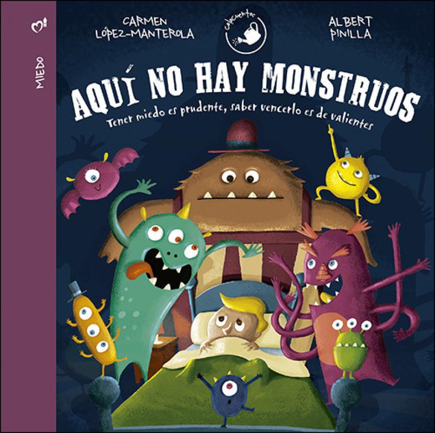AQUÍ NO HAY MONSTRUOS 9788428553865