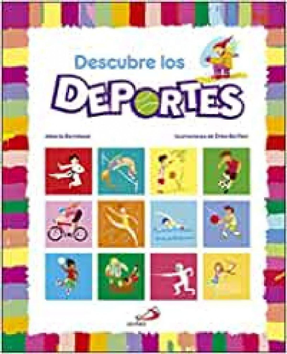 DESCUBRE LOS DEPORTES 9788428553919