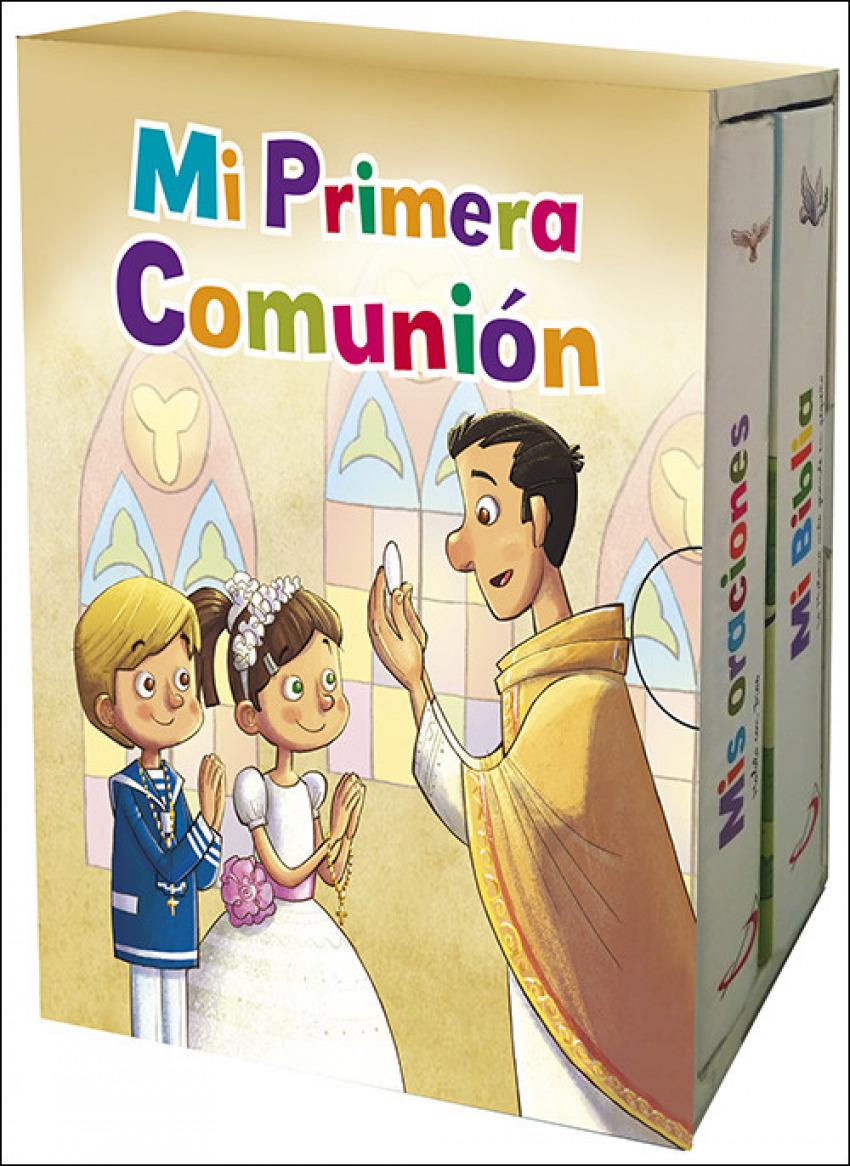 MI PRIMERA COMUNIÓN (PACK) 9788428554756