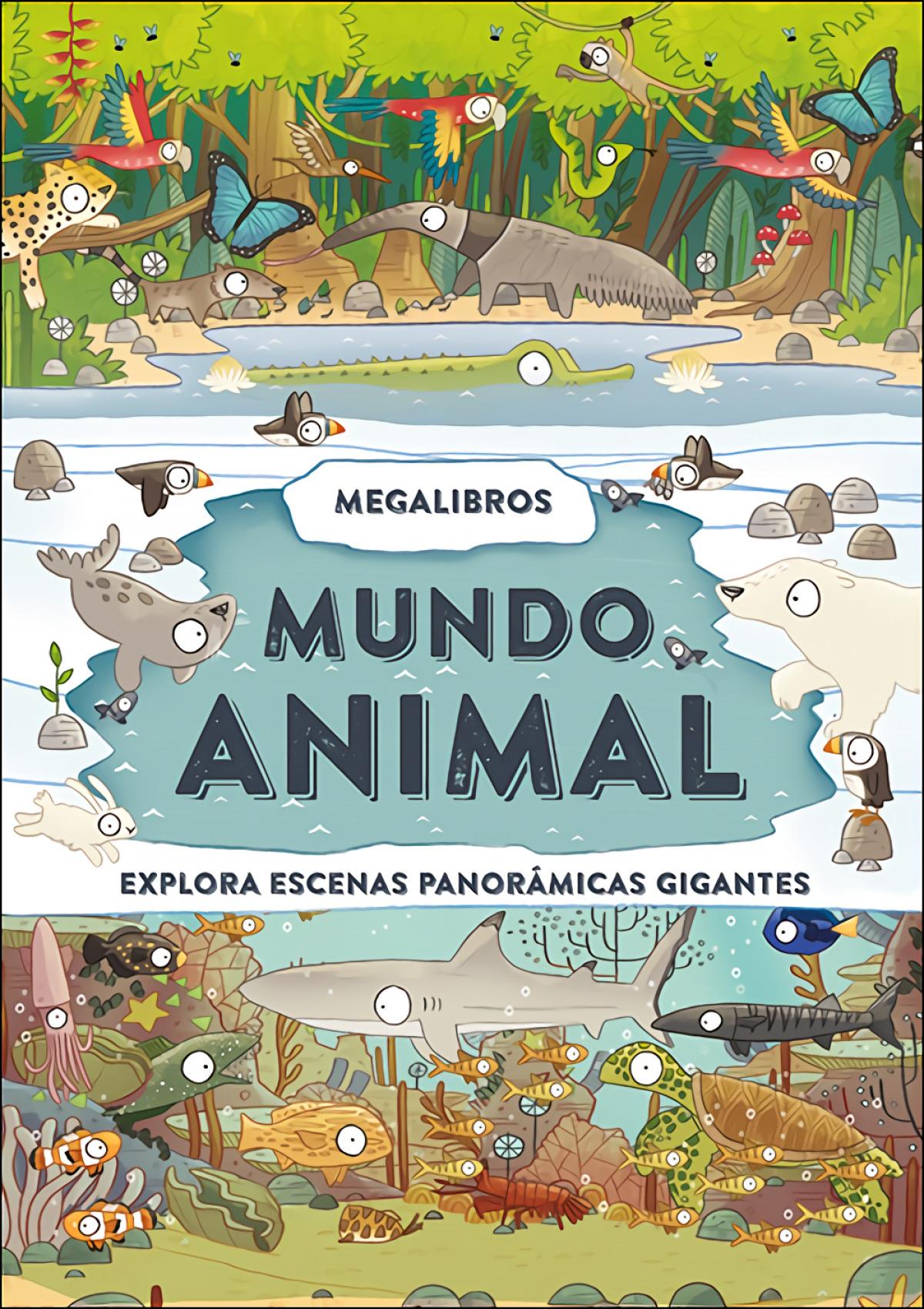 Megalibros. Mundo animal 9788428557917