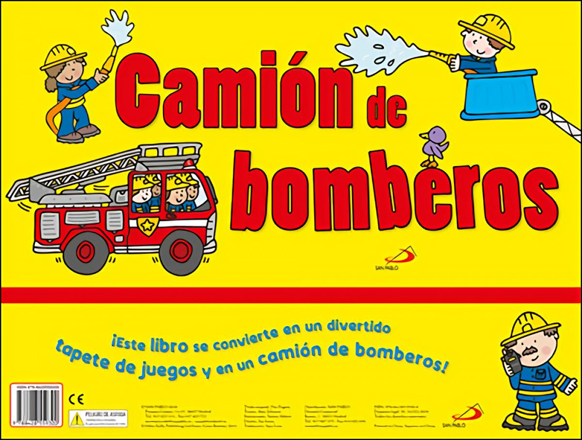 Camión de bomberos 9788428559300