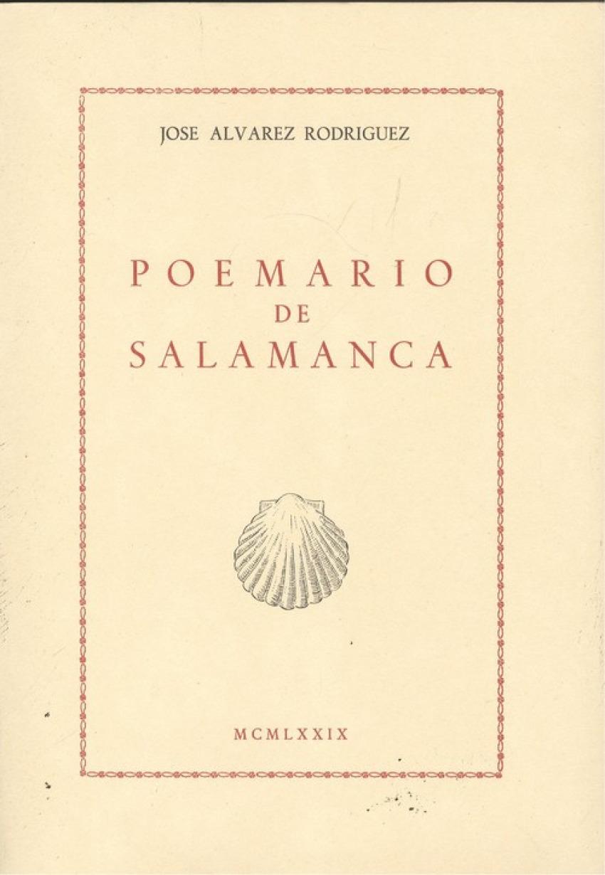 Poemario de salamanca 9788430003228