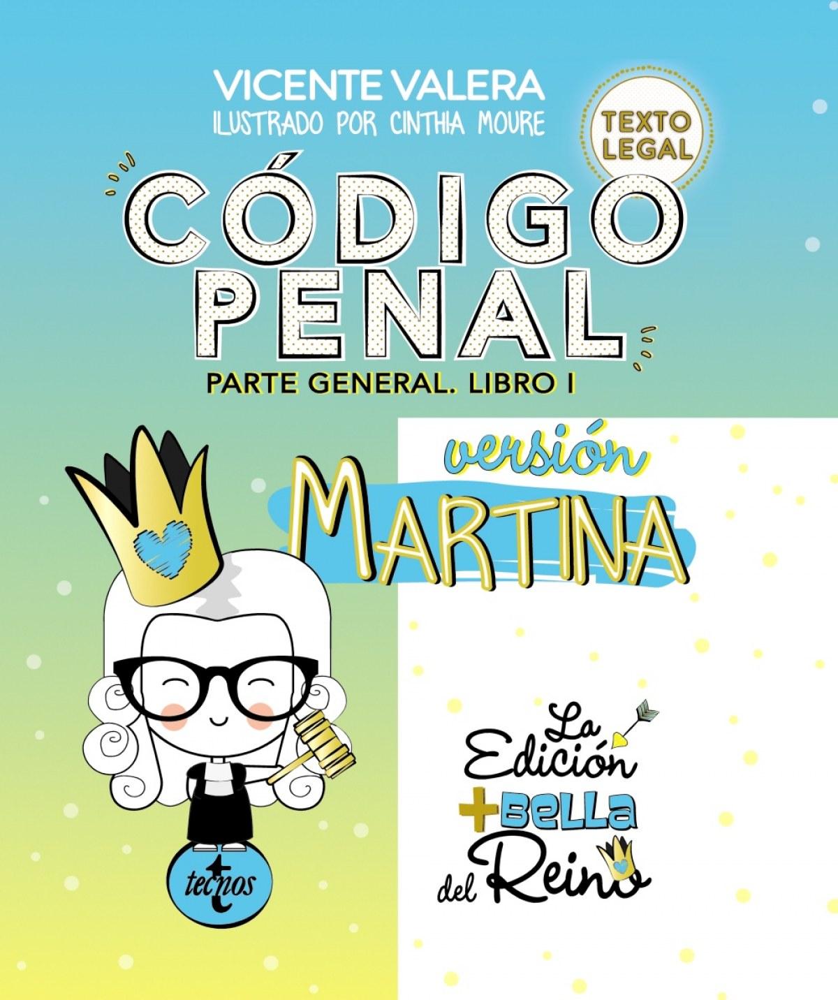 CÓDIGO PENAL. VERSIÓN MARTINA 9788430976188