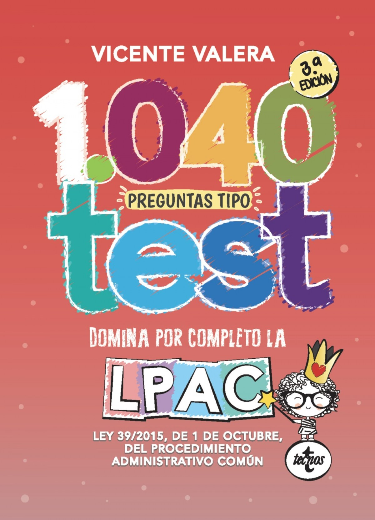 1040 preguntas tipo test LPAC 9788430981243