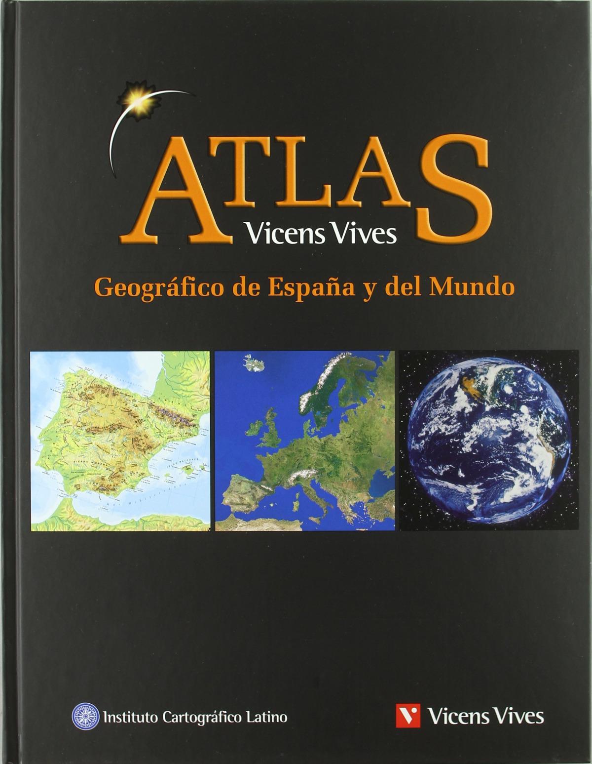Atlas Geografico España Y Mundo N/c 9788431683184