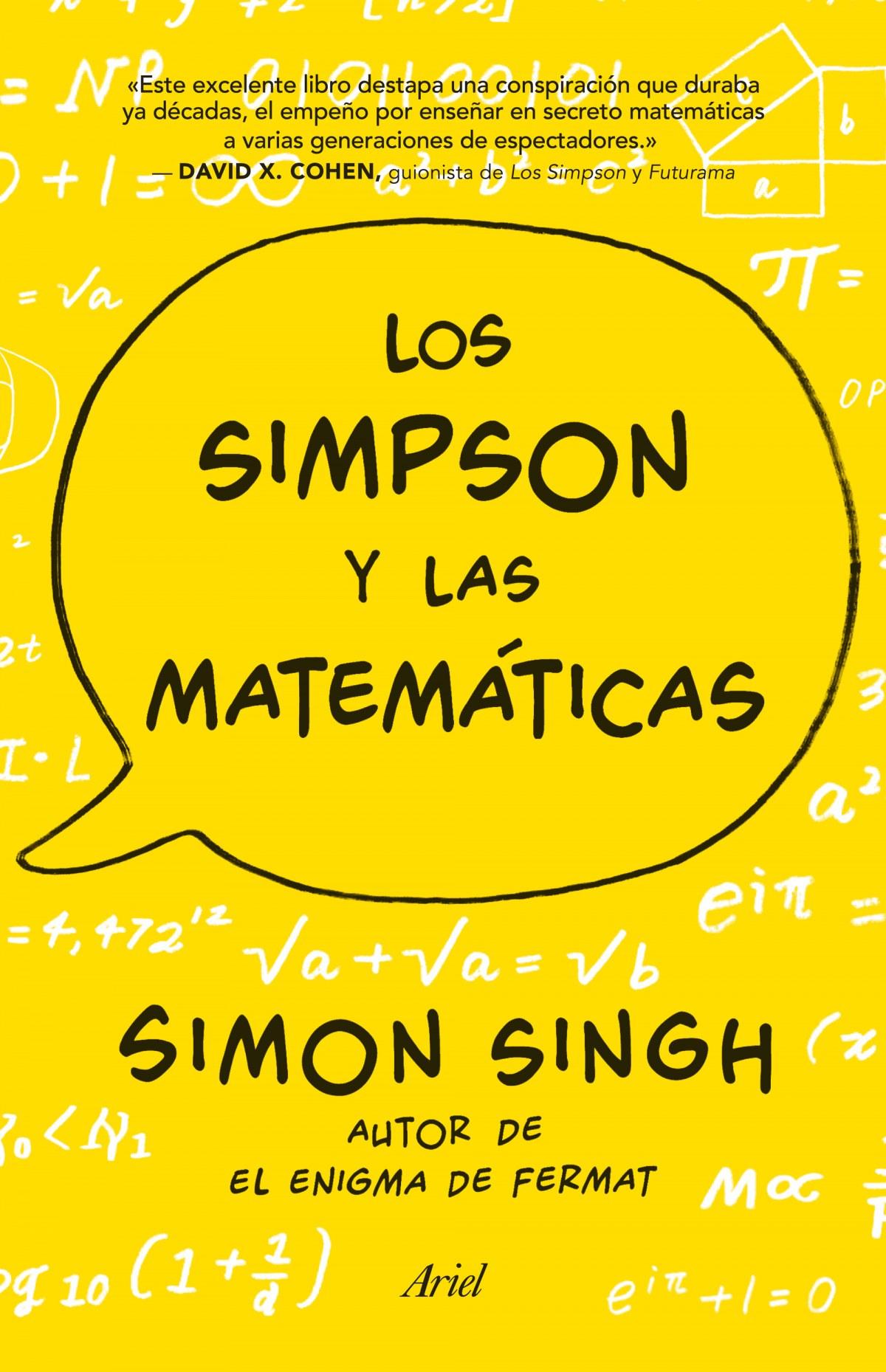 Los simpson y las matemáticas 9788434419056