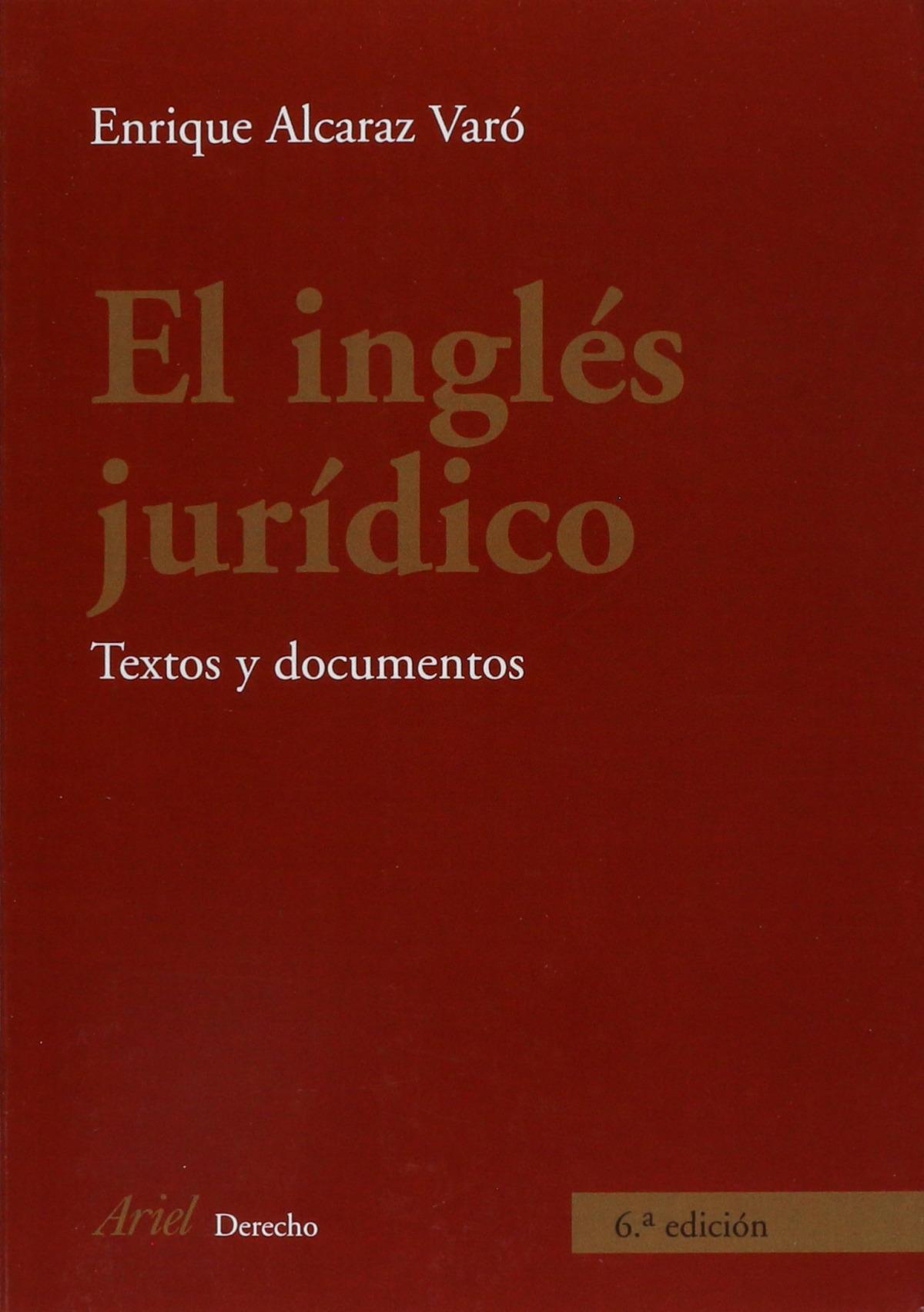 El inglés jurídico 9788434456006