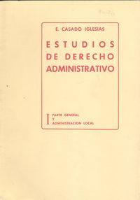 I.estudios derecho administrativo 9788439829140