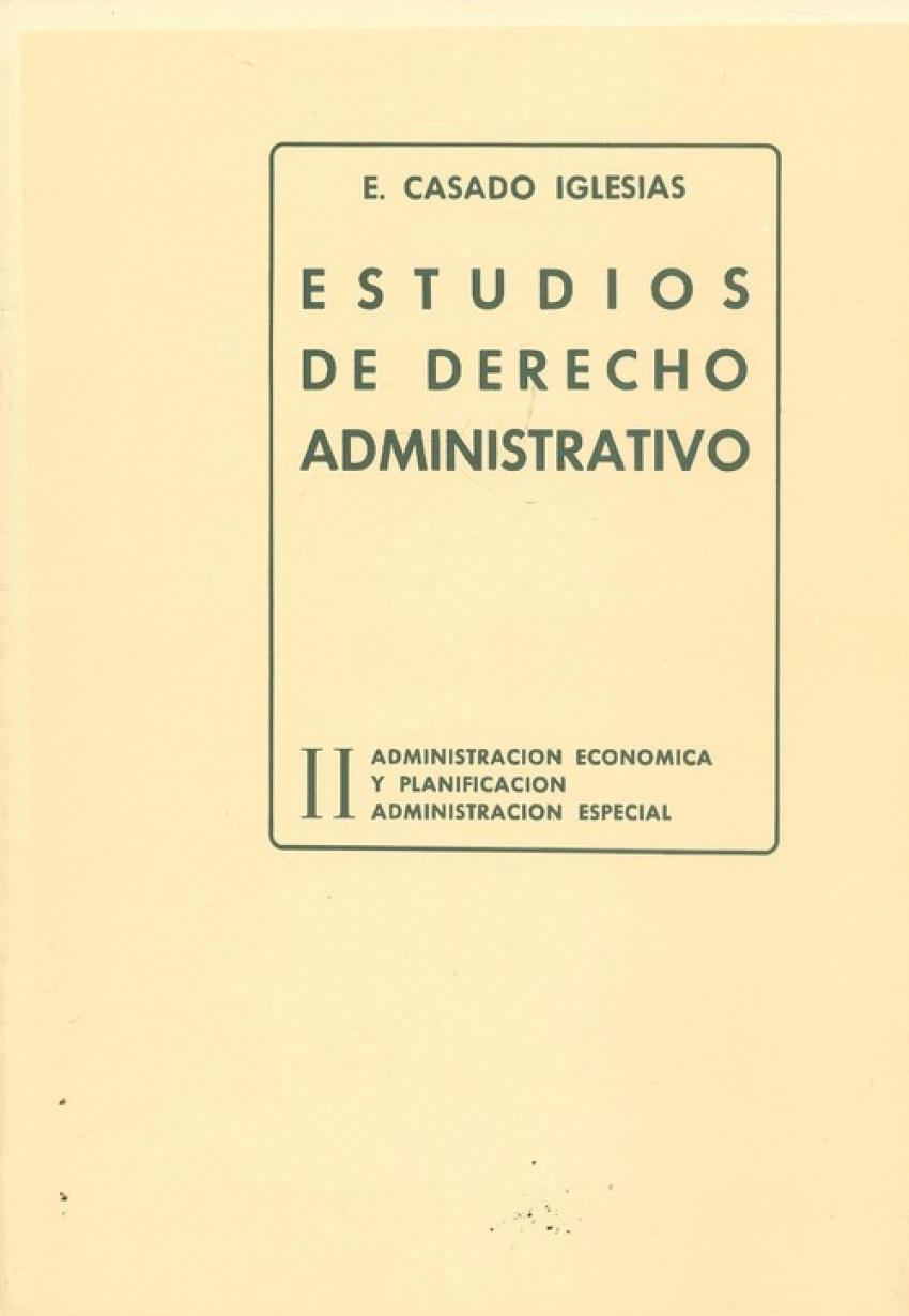 II.estudios de derechos administrativo 9788439829157