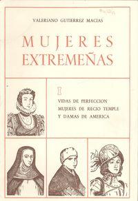 I.mujeres extremeñas 9788440025326