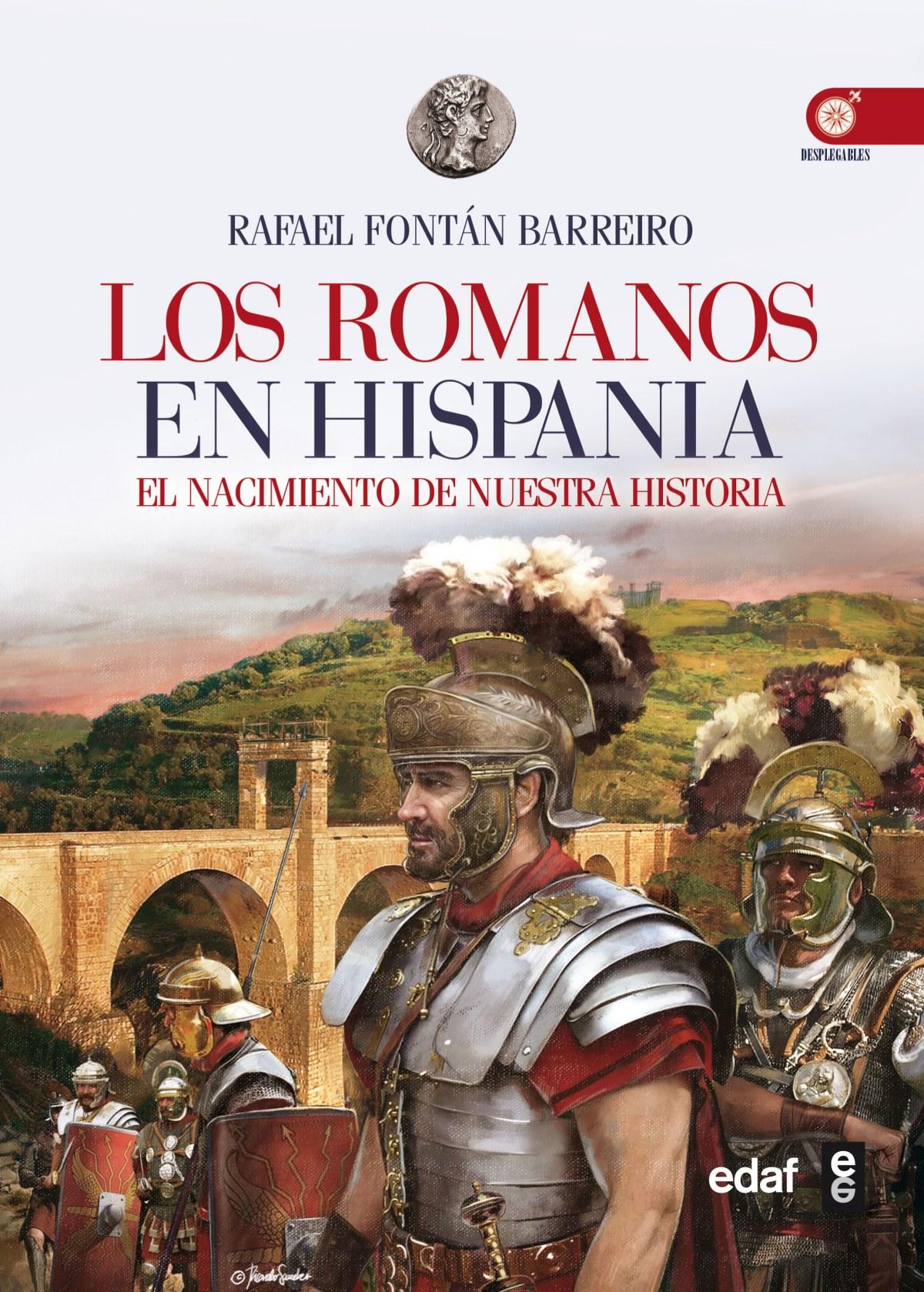 los romanos en hispania 9788441434028