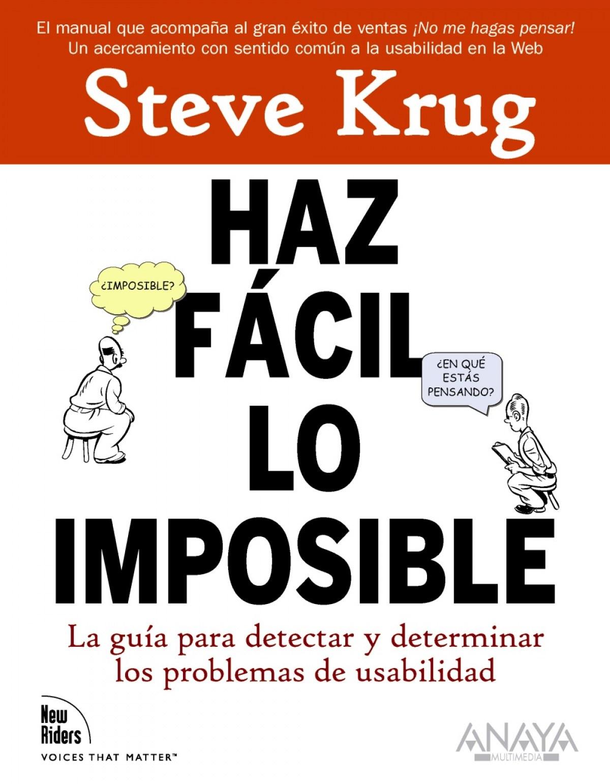 Haz fácil lo imposible 9788441527546