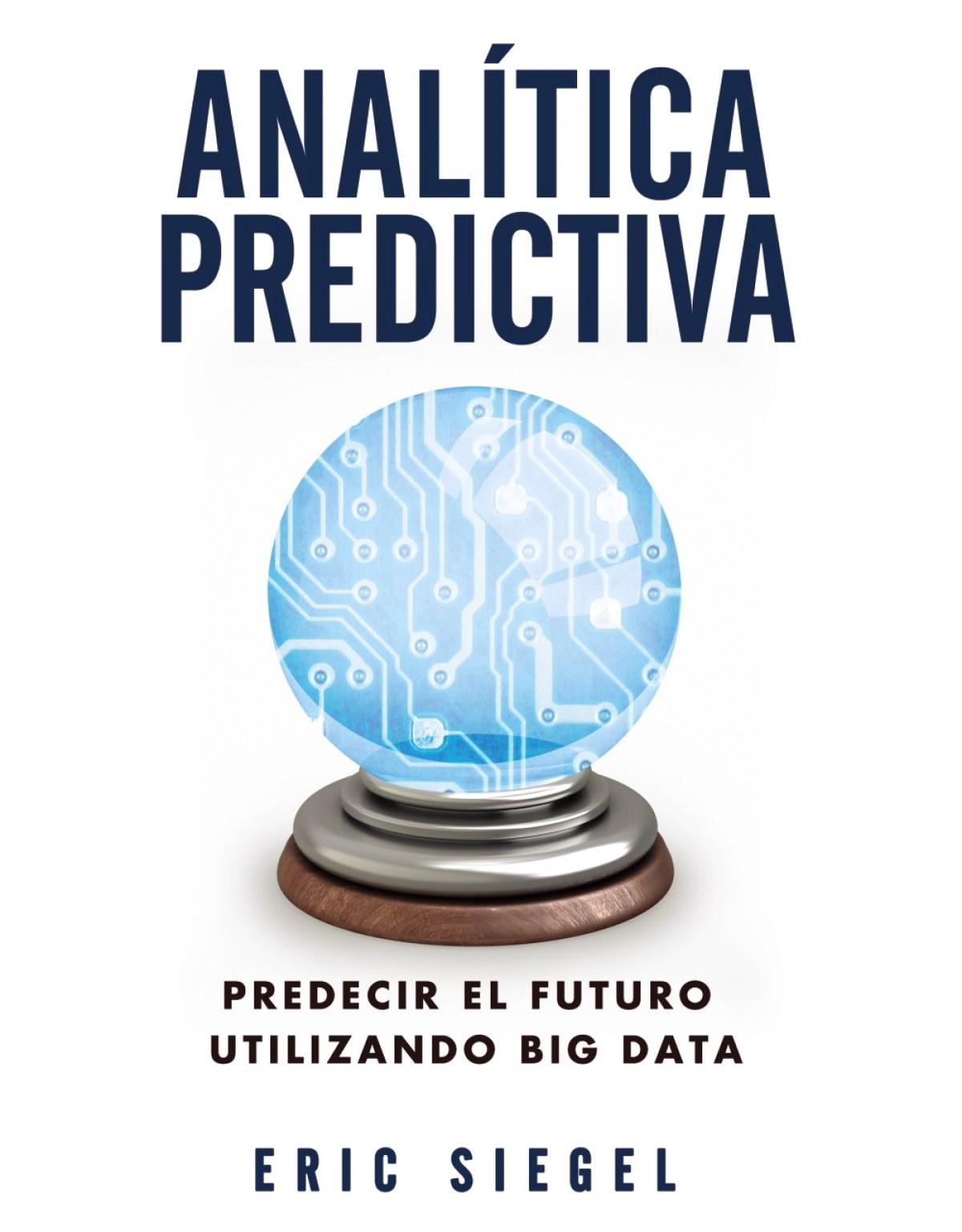 Anal¡tica predictiva 9788441534421