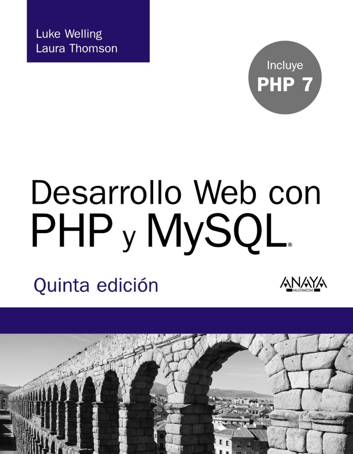 DESARROLLO WEB CON PHP Y MYSQL 9788441536913