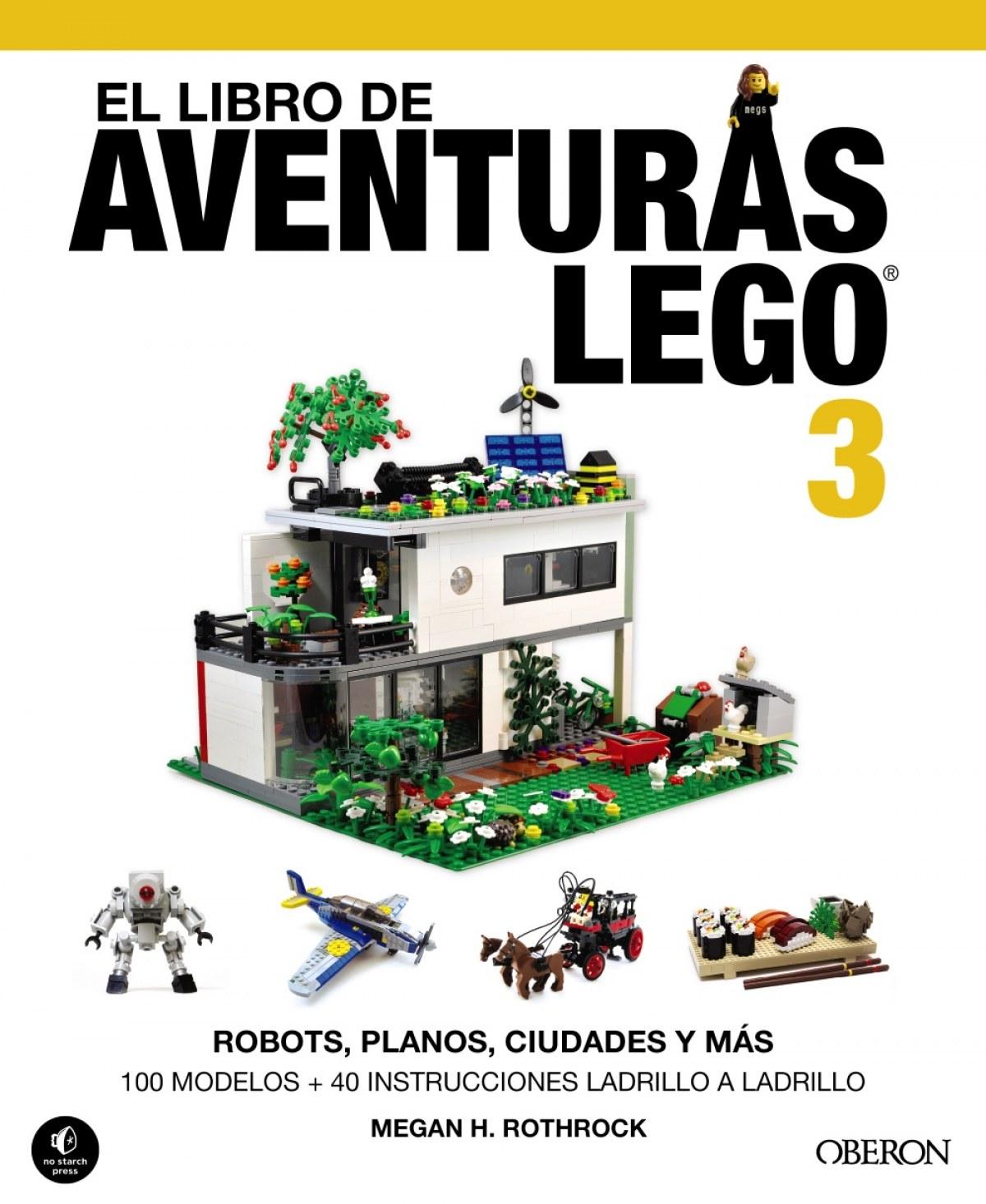 El libro de aventuras lego 3 9788441537835