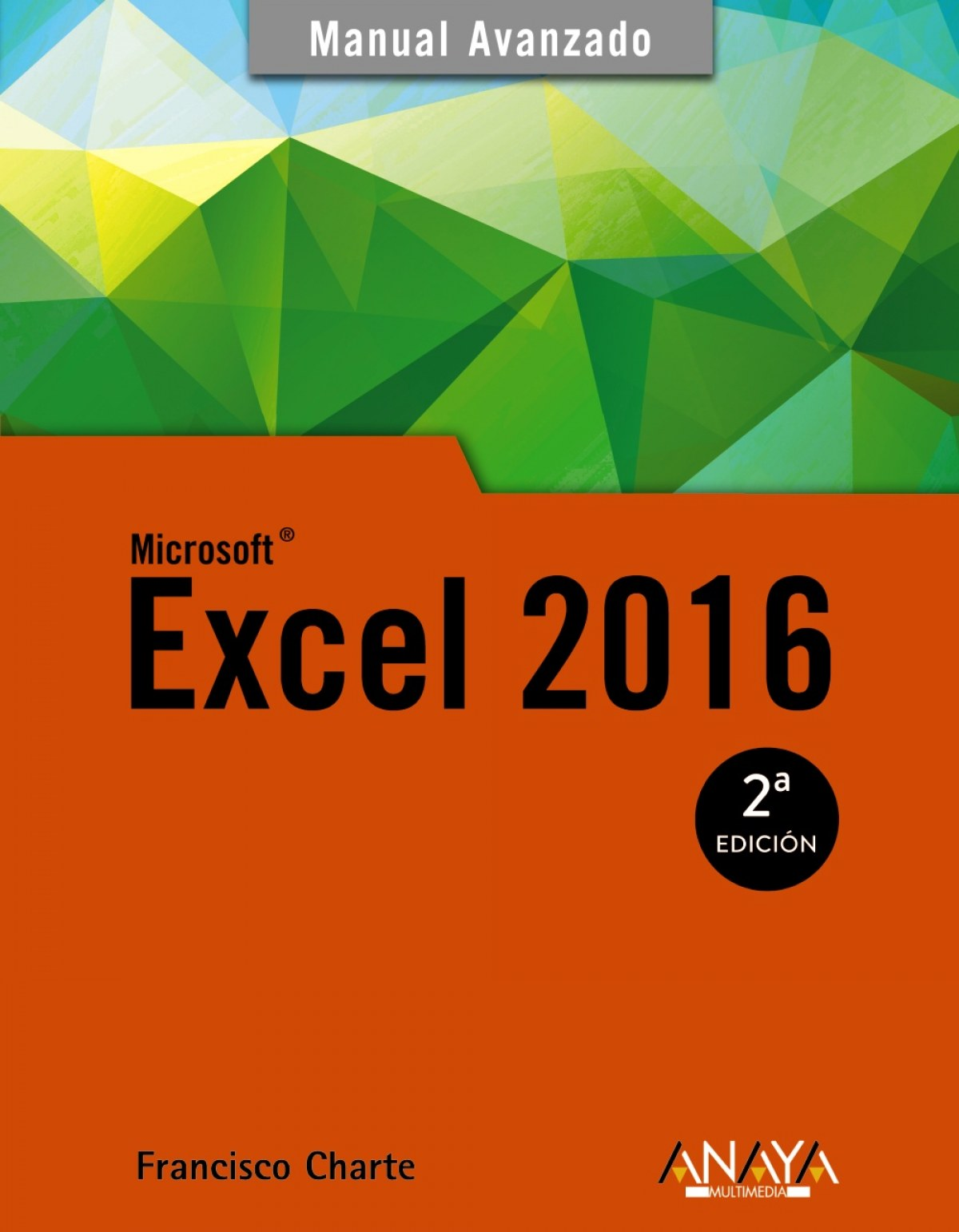 EXCEL 2016 9788441538061