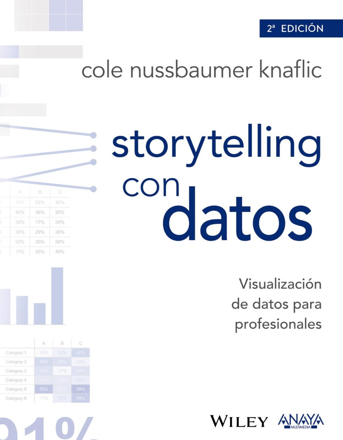 STORYTELLING CON DATOS 9788441539303
