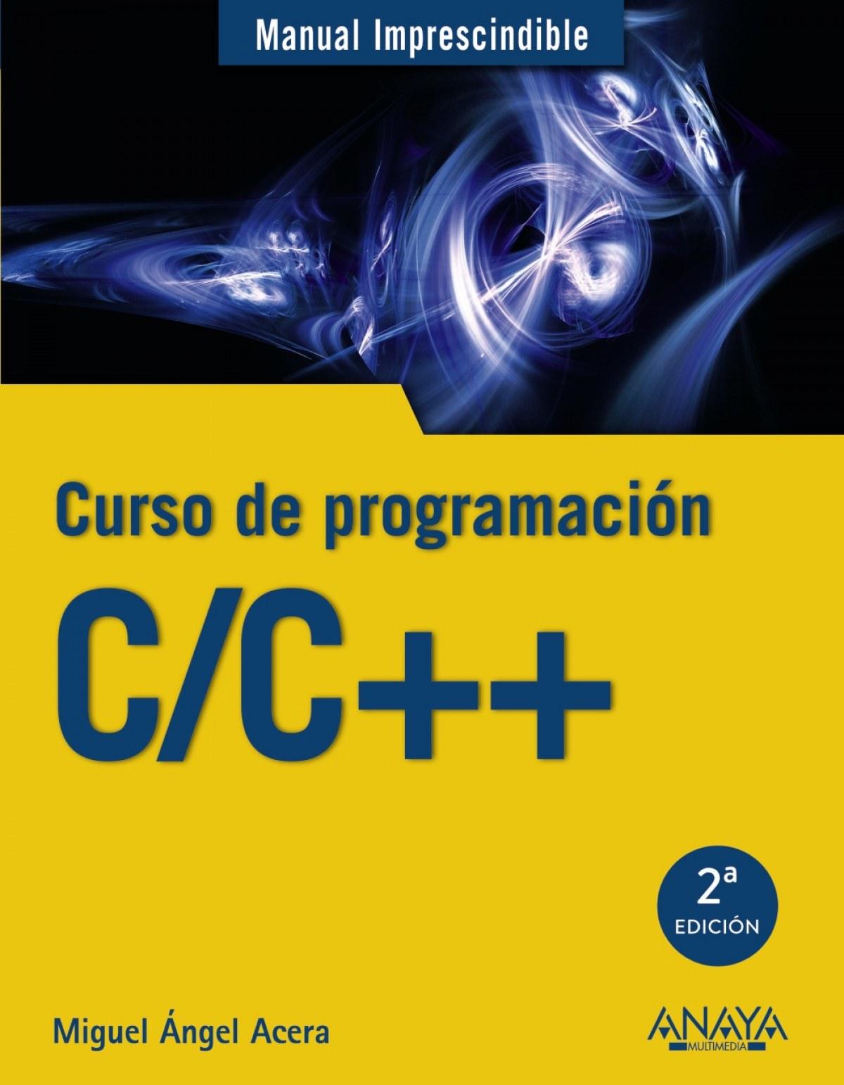 C/C++ CURSO DE PROGRAMACIÓN 9788441539372
