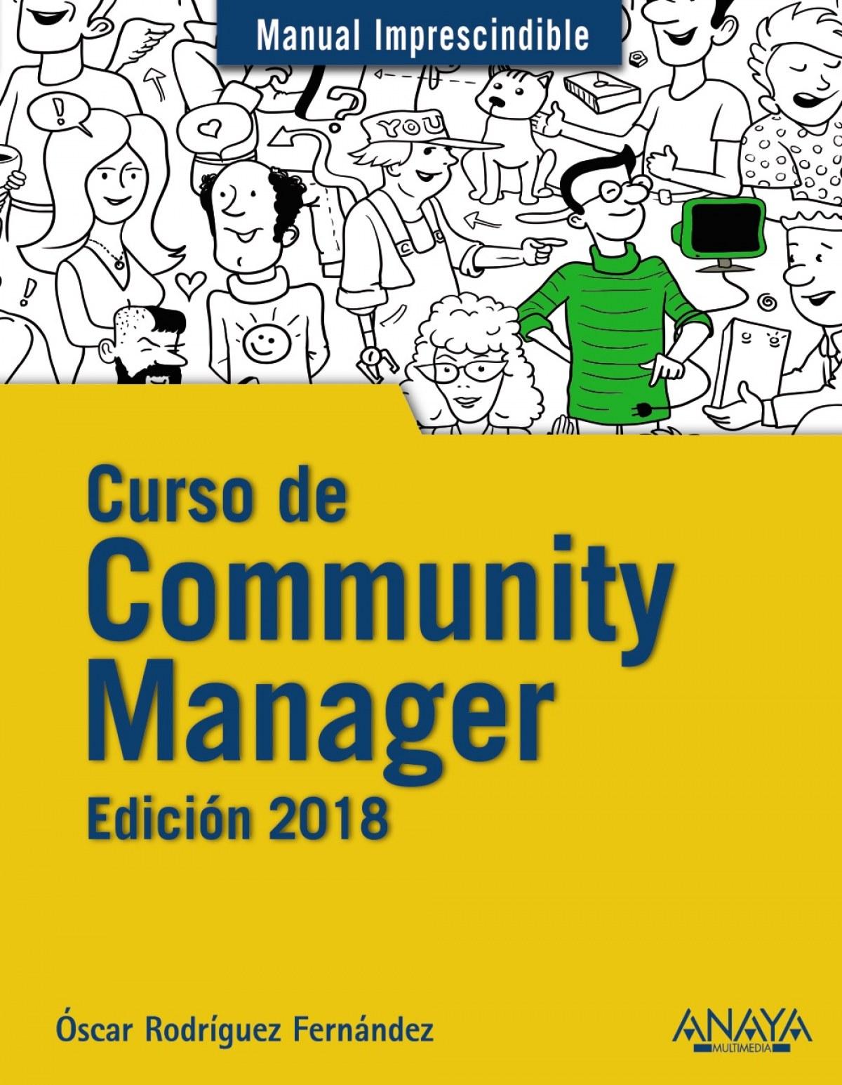 CURSO DE COMMUNITY MANAGER 2018 9788441539631