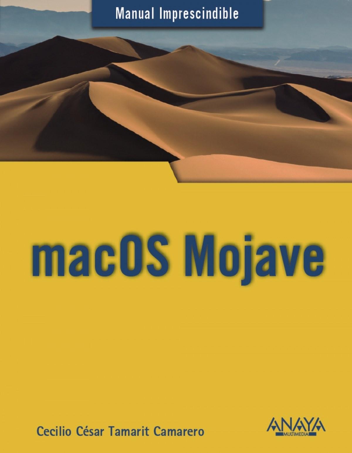MAC OS MOJAVE 9788441540514
