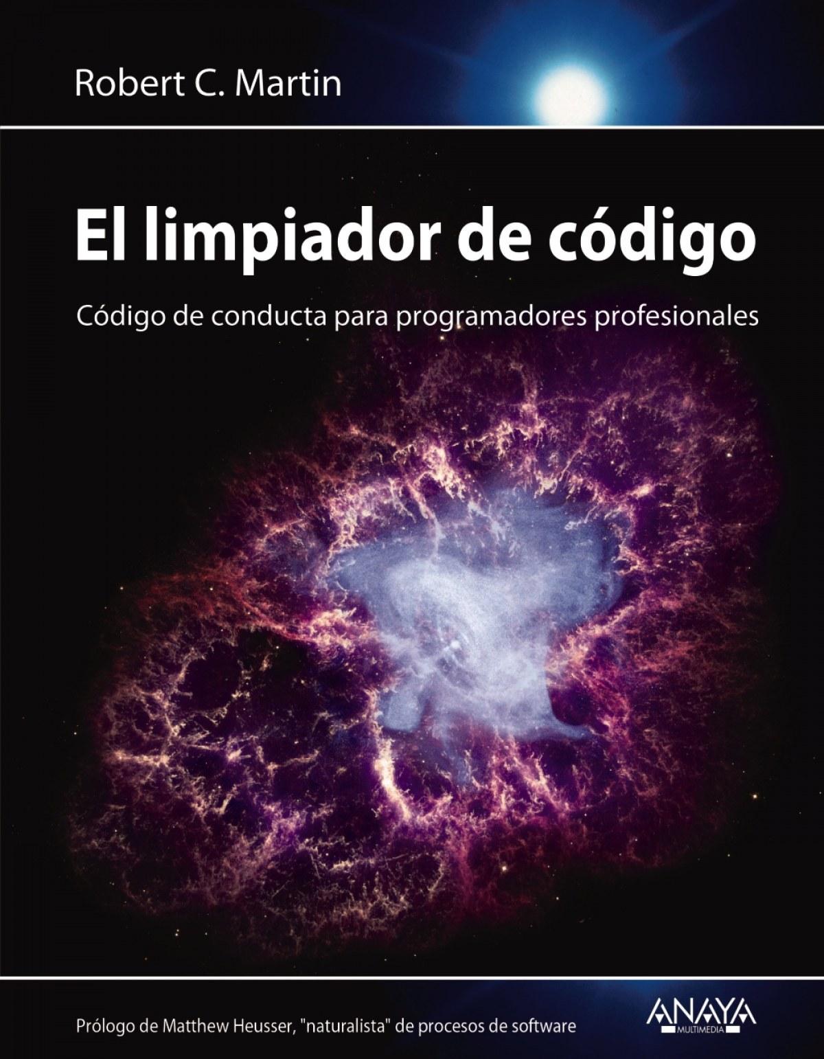 EL LIMPIADOR DE CÓDIGO 9788441540842