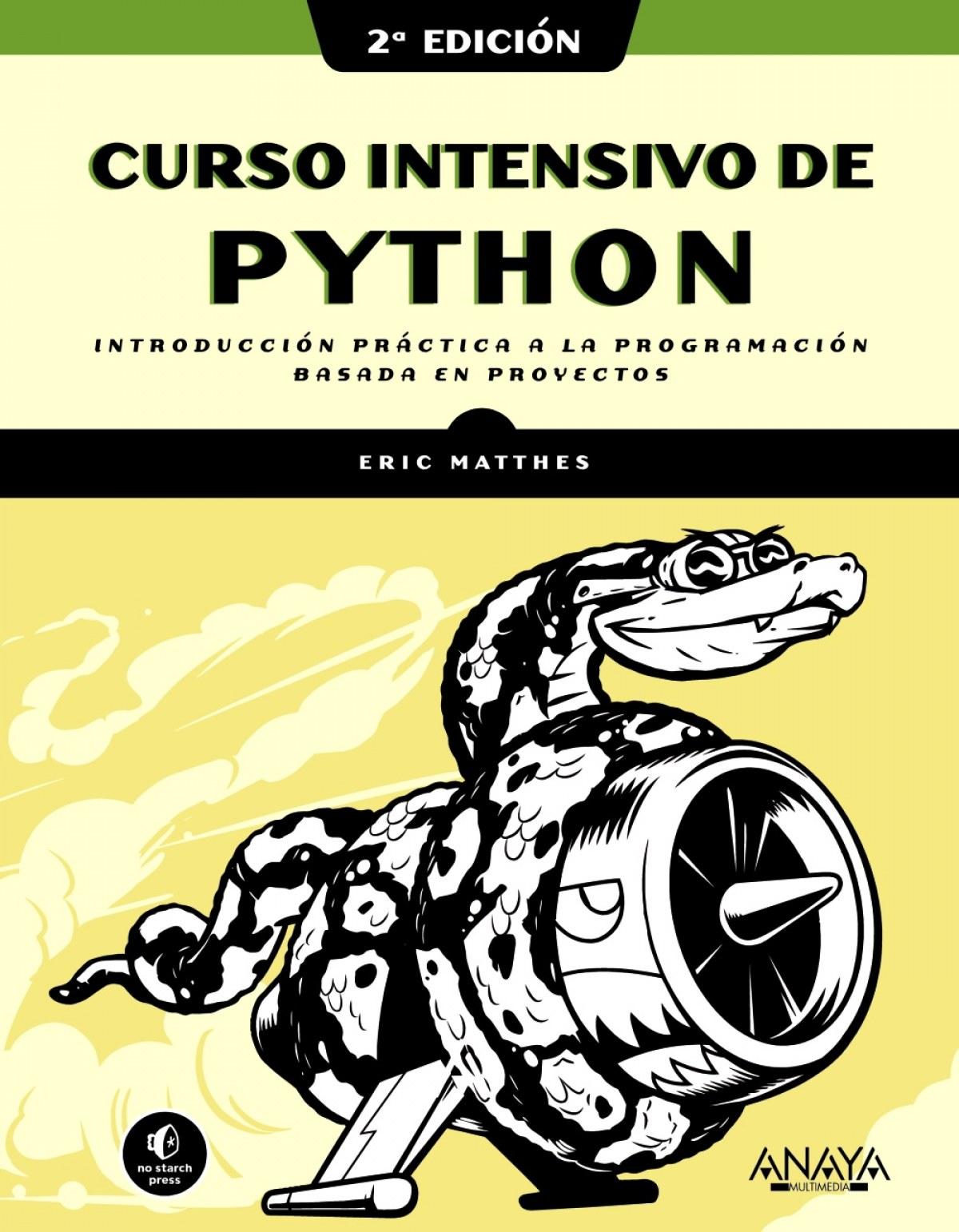Curso intensivo de Python, 2a. edición 9788441543348