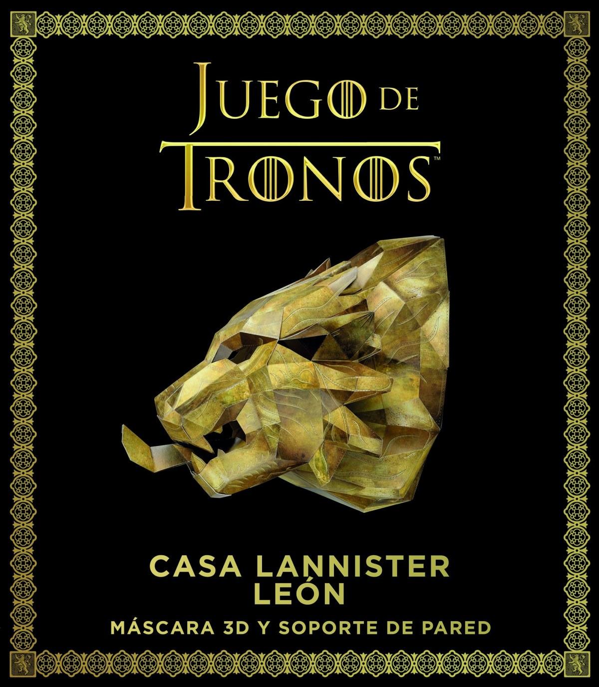 JUEGO DE TRONOS CASA LANNISTER LEON 9788445004692
