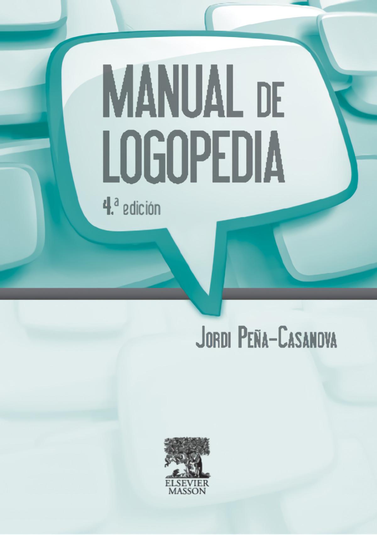 Manual de logopedia 9788445821091