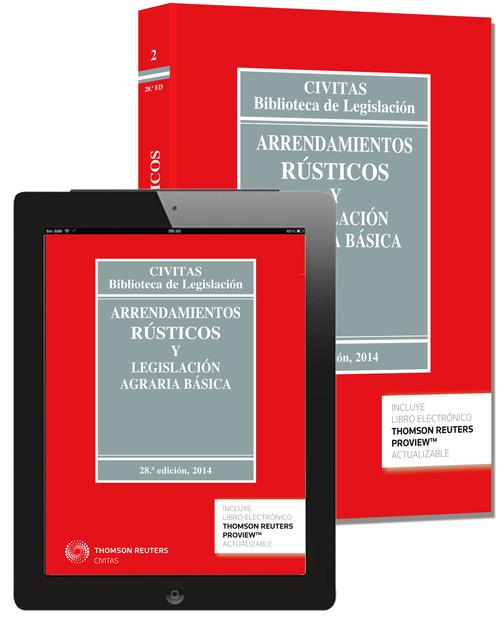 Arrendamientos Rústicos y Legislación Agraria Básica 9788447047543