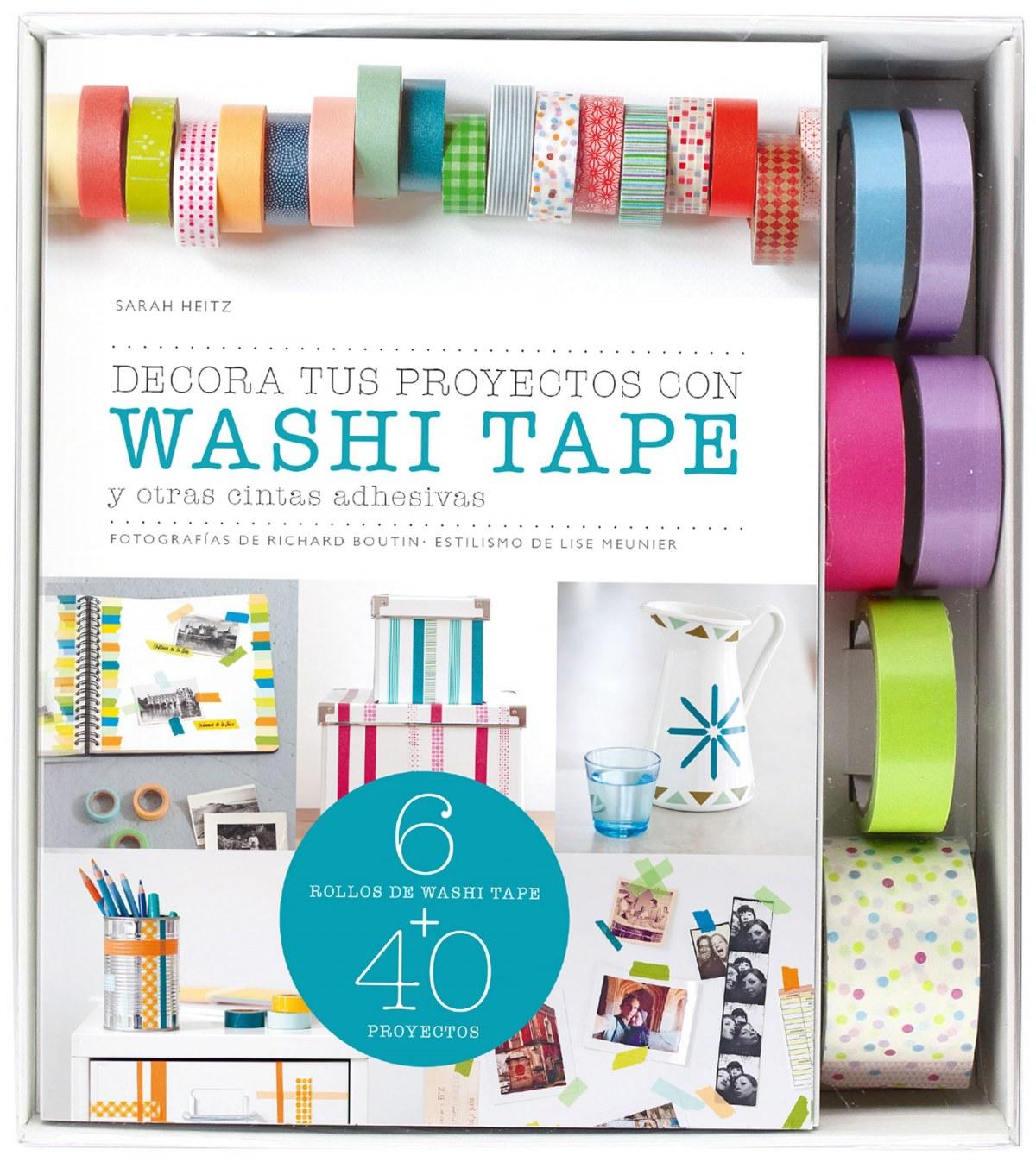 Decora tus proyectos con washi tape 9788448021238