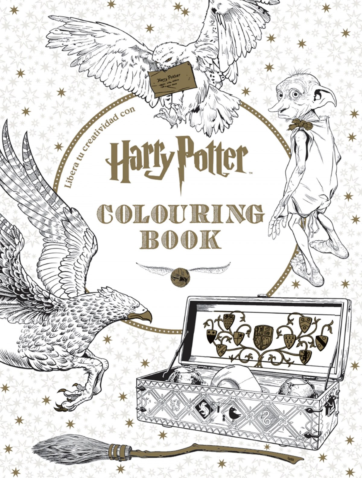 Harry Potter coloring book 9788448022129