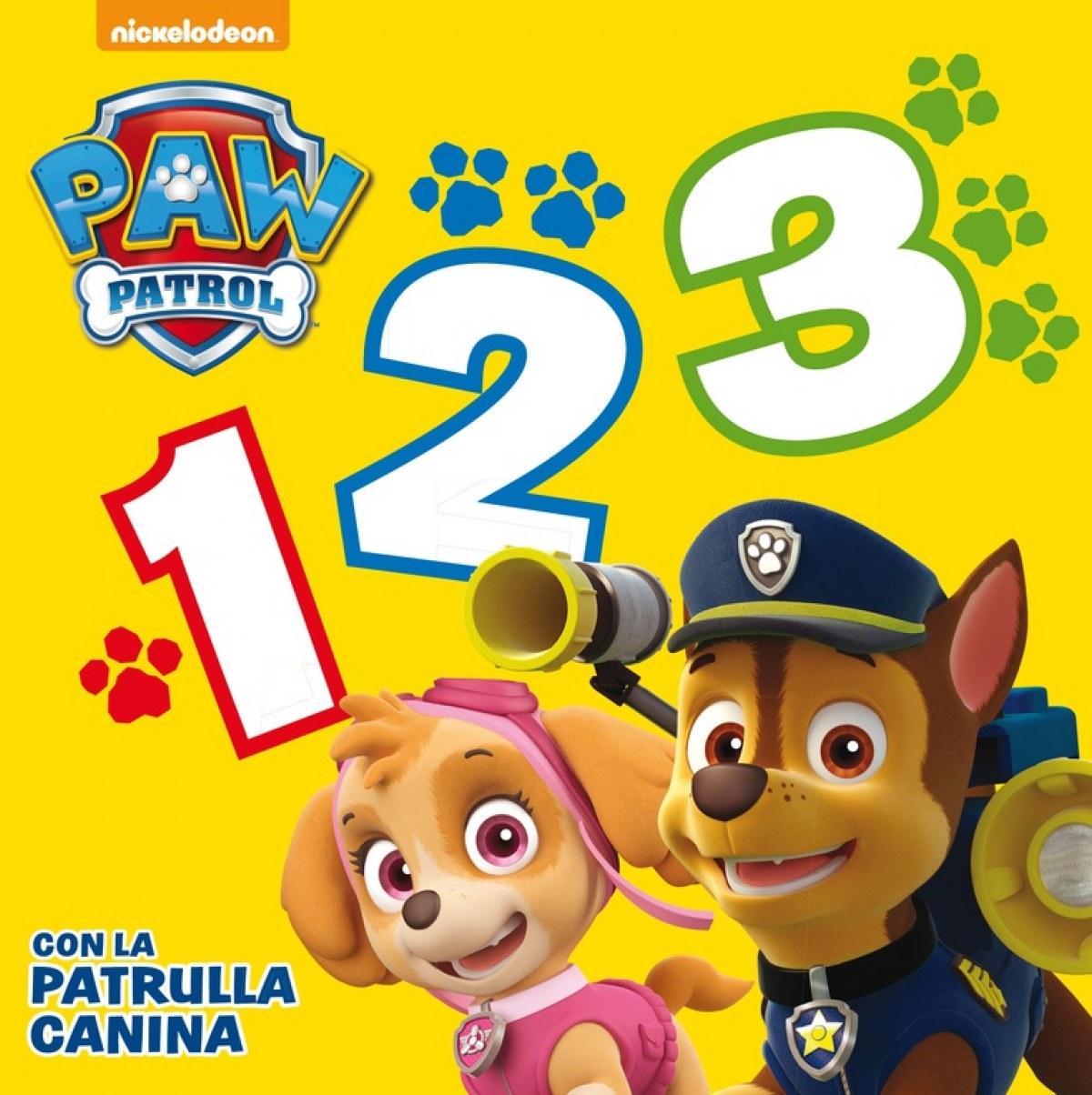 1, 2, 3 Con la patrulla canina 9788448844233