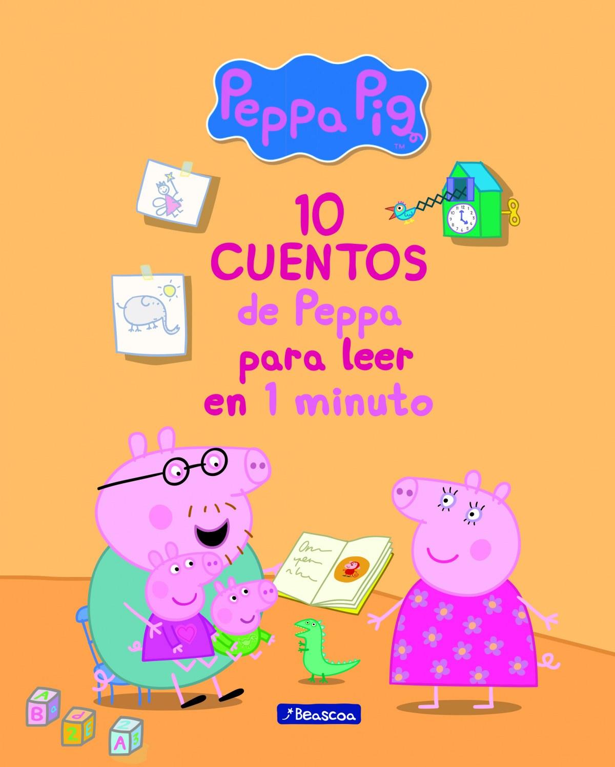 10 CUENTOS DE PEPPA PARA LEER EN 1 MINUTO 9788448849719