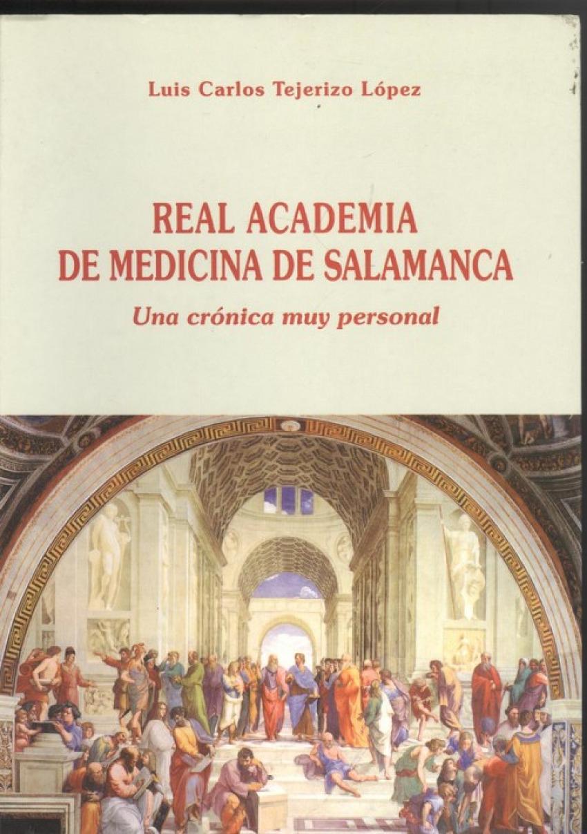 Real academia de medicina de salamanca 9788461135936