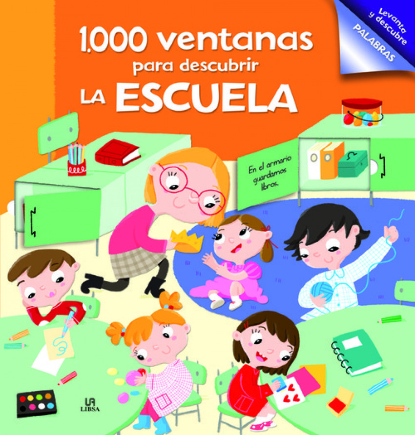 1000 VENTANAS PARA DESCUBRIR LA ESCUELA 9788466234702