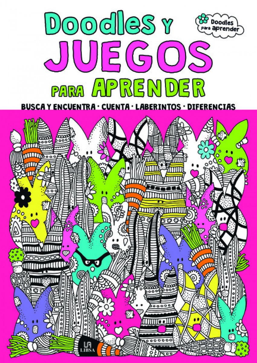 DOODLES Y JUEGOS PARA APRENDER 9788466235488