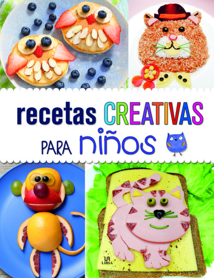 RECETAS CREATIVAS PARA NIñOS 9788466235914