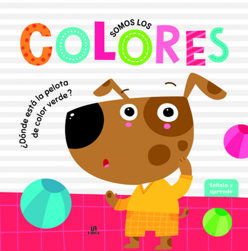 SOMOS LOS COLORES 9788466236850