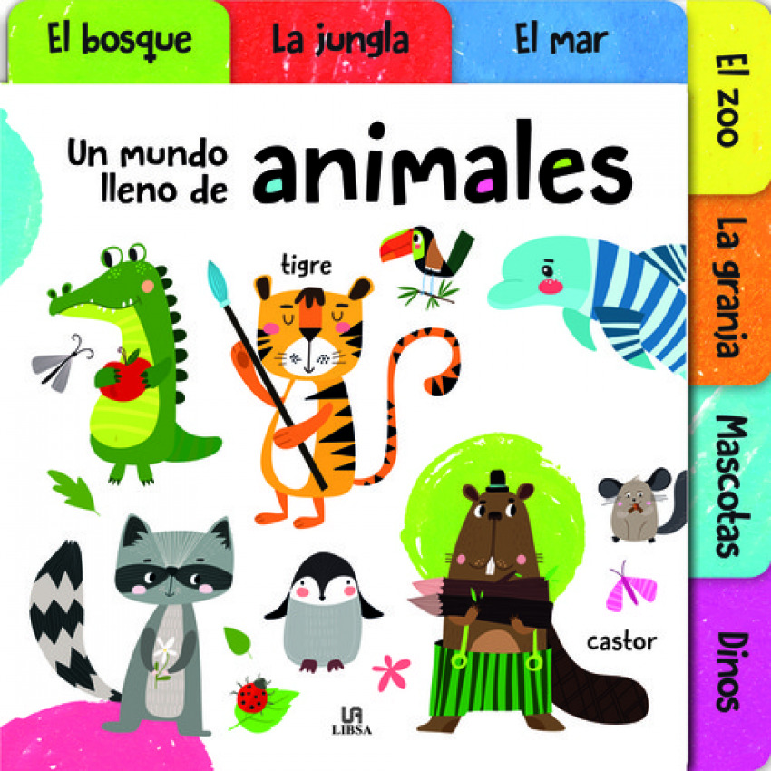 UN MUNDO LLENO DE ANIMALES 9788466238236