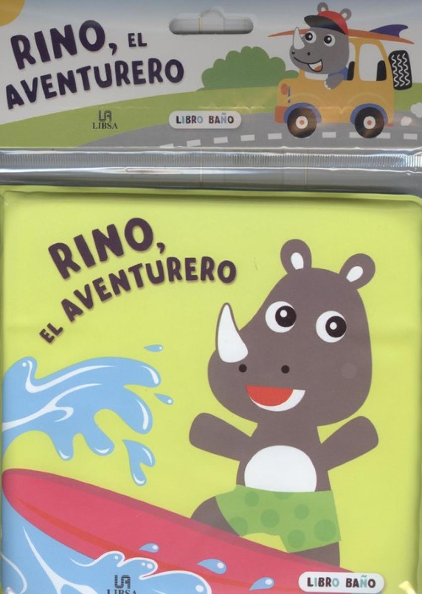 RINO, EL AVENTURERO 9788466238885